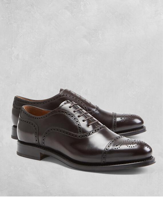 gimp - MH00538_DARK-BROWN - Δερμάτινα Παπούτσια Golden Fleece®