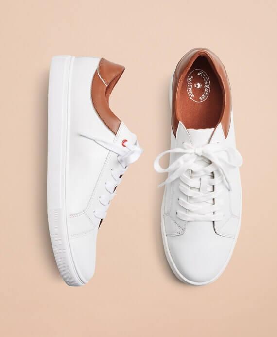 RH00017_WHITE - Δερμάτινα Sneakers - 100124951 - 98
